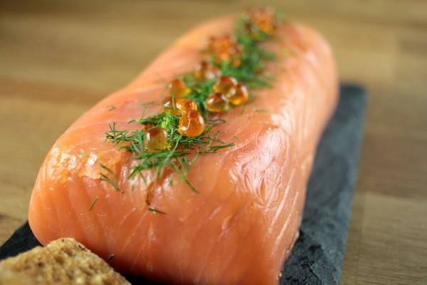 Triple Salmon and KIng Prawn Terrine