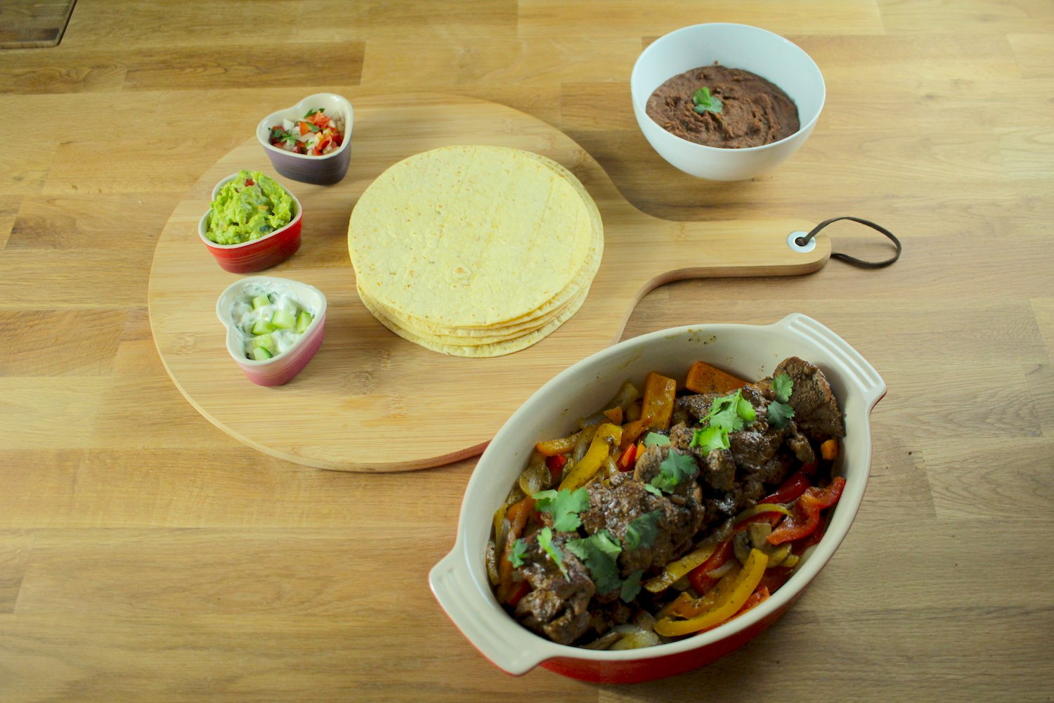 Pan Fried Marinated Lamb Fajitas Recipe - Globe Scoffers | globescoffers.com