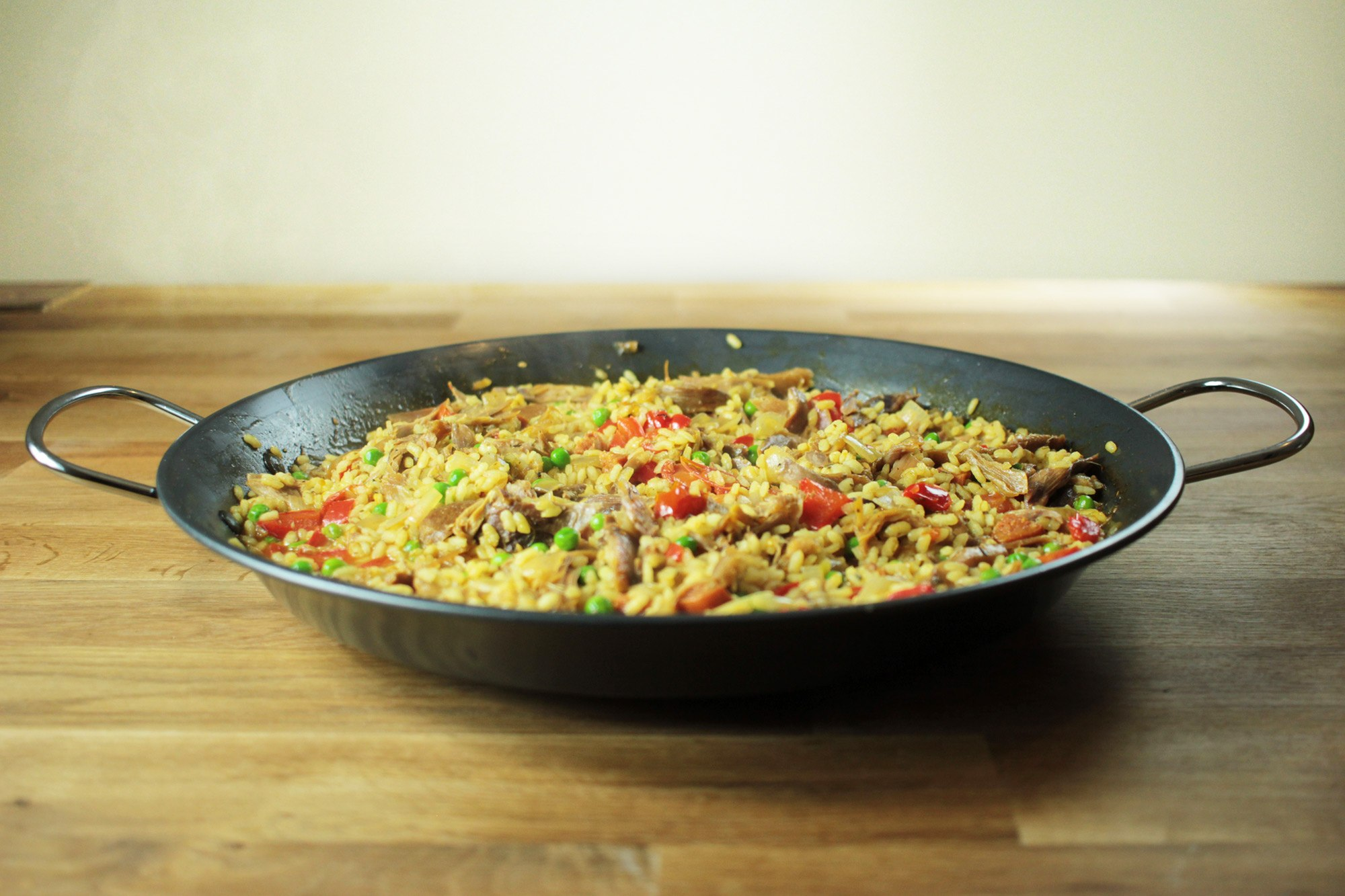 Slow Cooked Pheasant Paella Recipe - Globe Scoffers | globescoffers.com