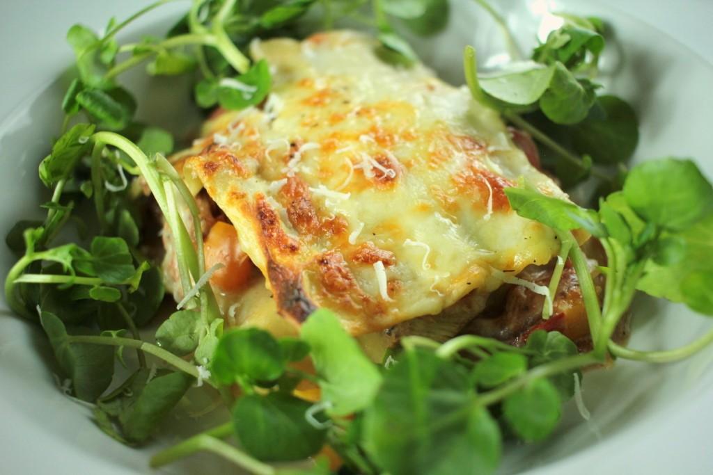 Slow Cooked Pheasant Lasagne