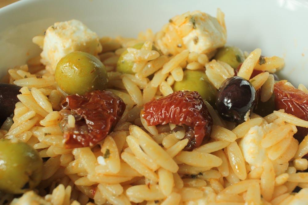Orzo Pasta Salad-