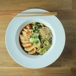 Chicken and Wild Mushroom Ramen