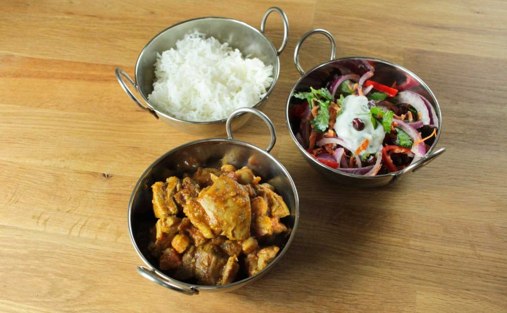 Chicken and Chickpea Curry with Indian Slaw-1