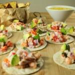 Prawn and Squid Soft Tacos