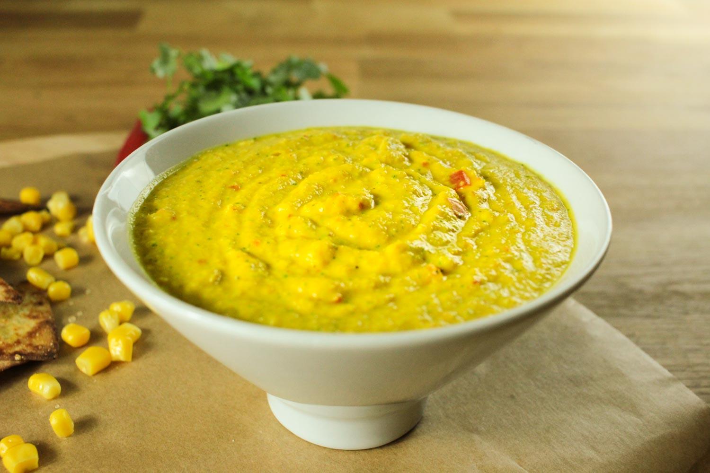 Easy Sweetcorn, Chilli and Coriander Dip Recipe - Globe Scoffers   globescoffers.com