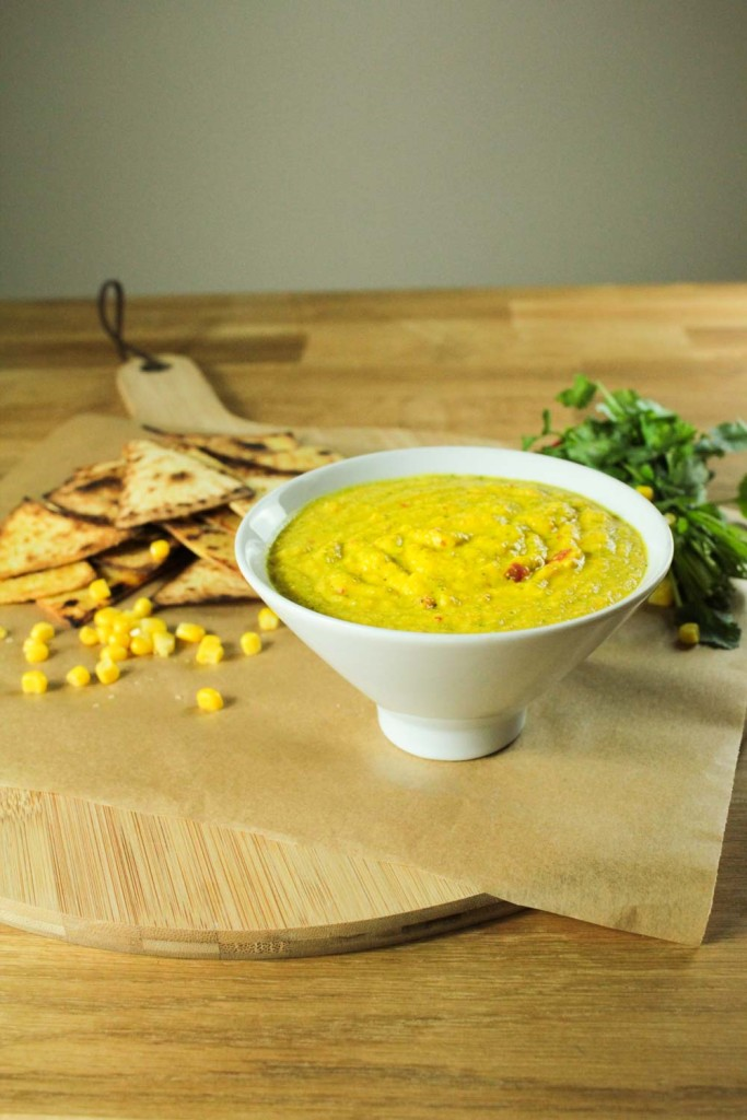 Sweetcorn Chilli and Coriander Dip-5