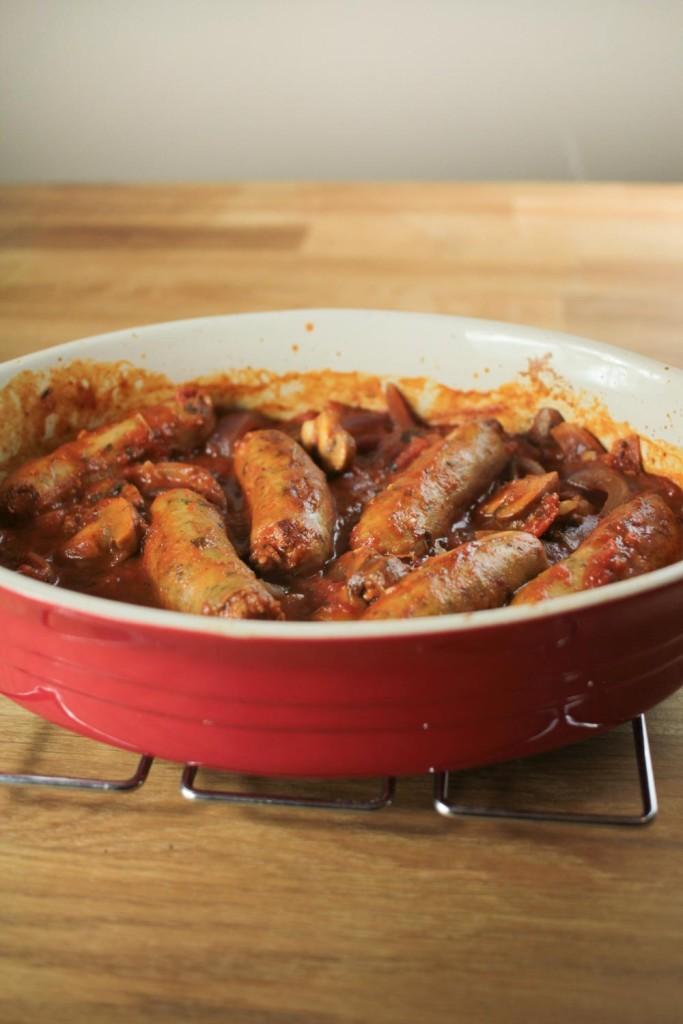 Herby Sausage Casserole