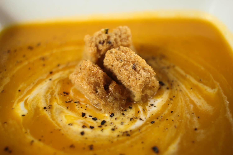 Roasted Butternut Squash Soup with Cumin Recipe - Globe Scoffers | globescoffers.com