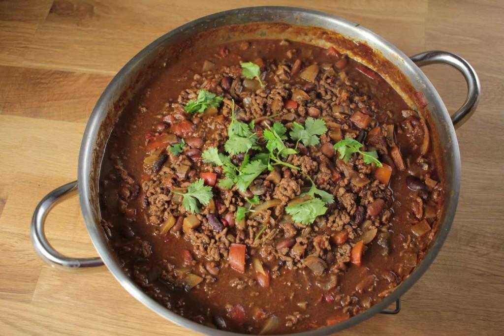 Chocolate Chilli Con Carne