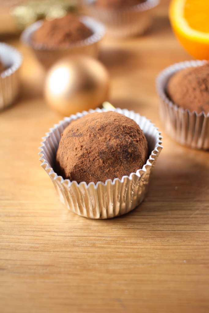 Dark Chocolate Orange Truffles-6