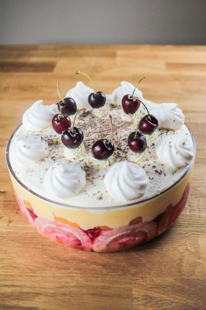 No Christmas is complete without trifle! This one is a little bit different and swaps out sherry for Cointreau along with your favourite fruit. It's a real showstopper so give it a go!