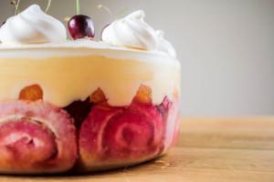 Berrylicious Boozy Orange Trifle