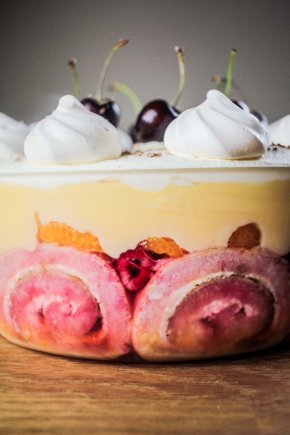 No Christmas is complete without trifle! This one is a little bit ...