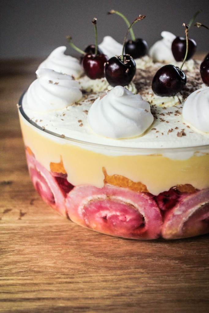 Berrylicious and Boozy Orange Trifle-7