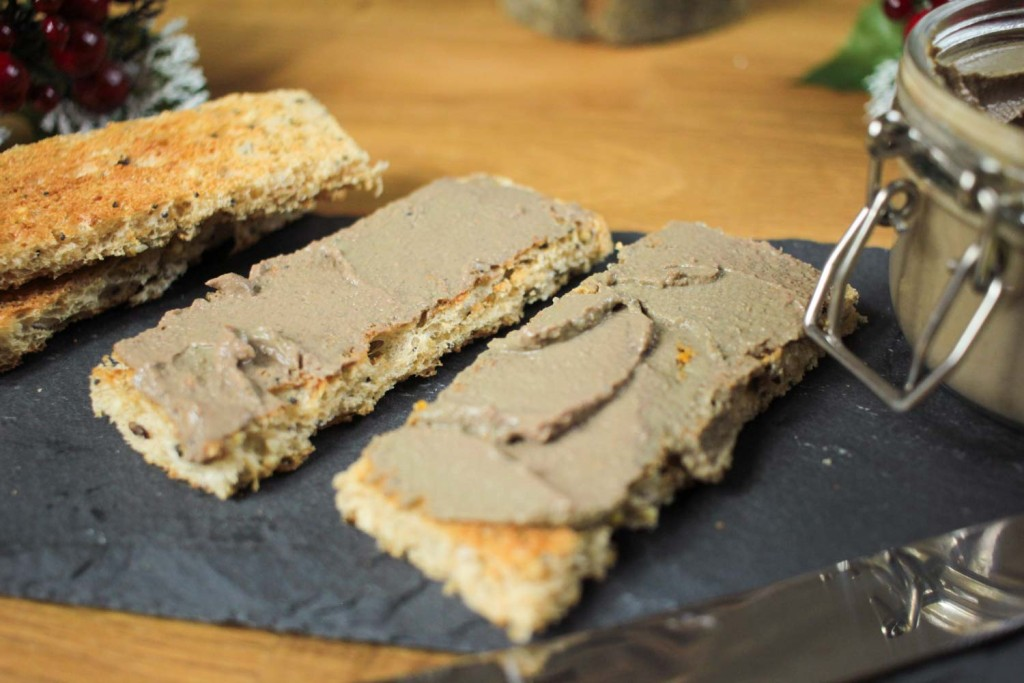 Christmas would not be complete without pâté! This one has hints of classic, warming festive flavours and is utterly delicious. It couldn't be easier to make, give it a go!
