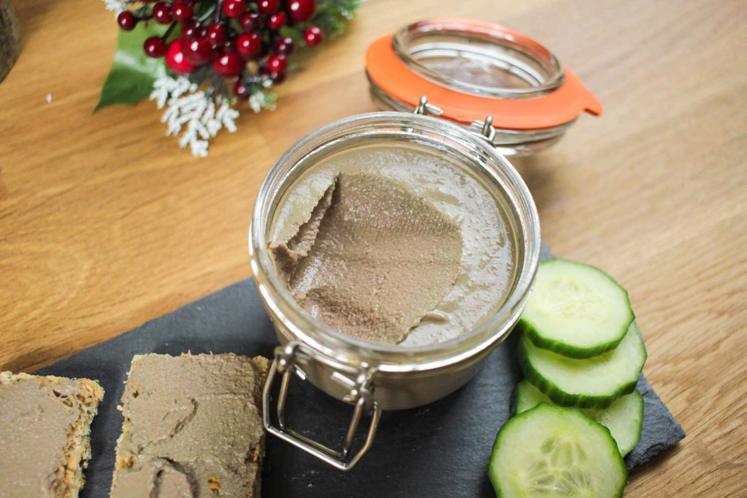 Christmas Pâté Recipe - Globe Scoffers | globescoffers.com