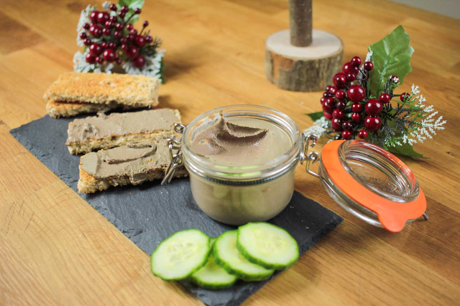 Christmas Pâté Recipe - Globe Scoffers