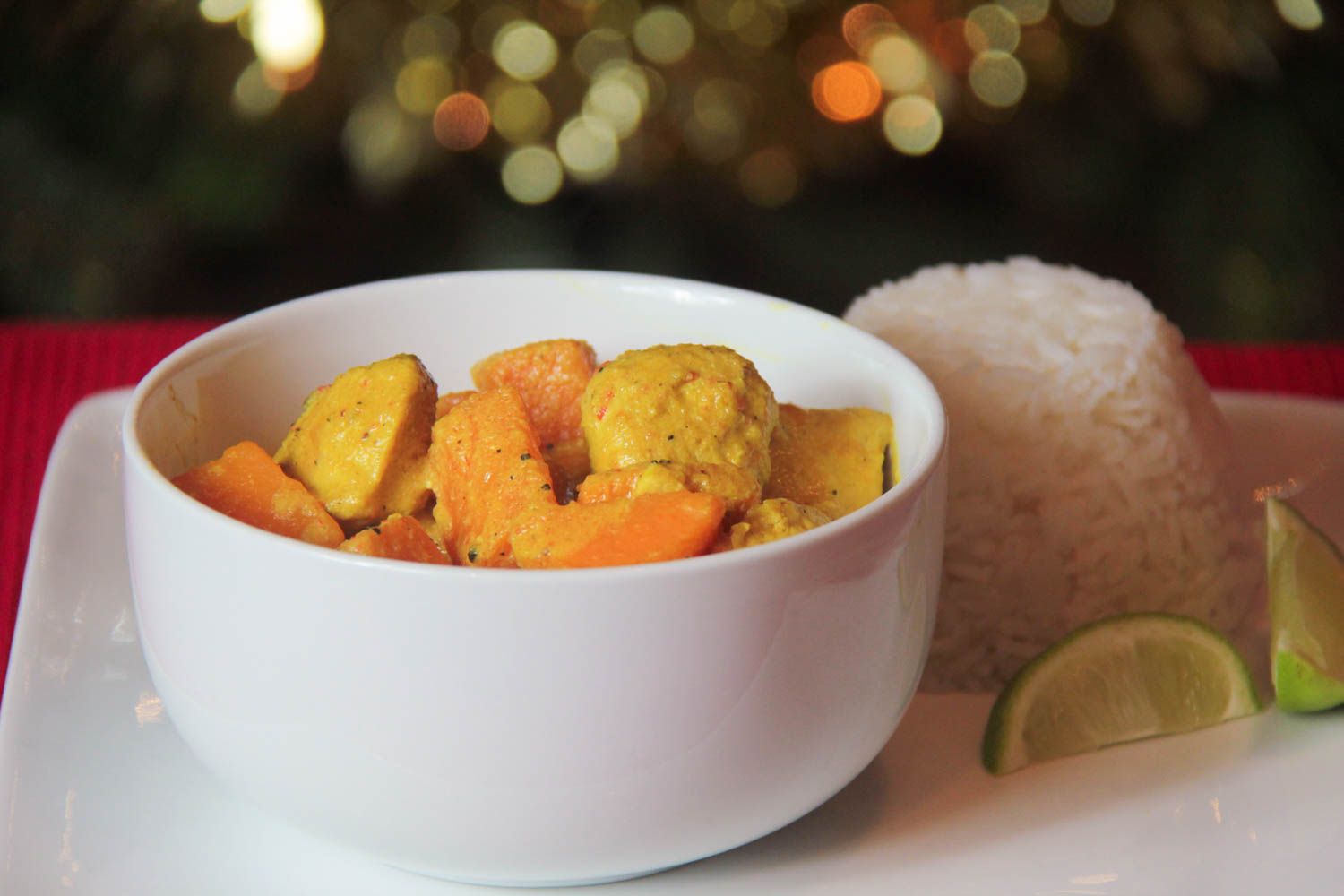 Turkey and Sweet Potato Thai Curry Recipe - Globe Scoffers | globescoffers.com