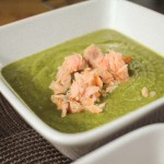 Broccoli and Salmon Soup