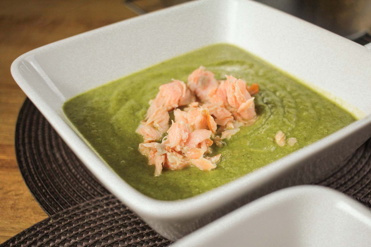 Broccoli and Salmon Soup Recipe - Globe Scoffers | globescoffers.com