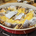 Panettone and Stollen Bread and Butter Pudding Recipe