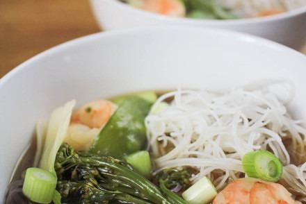 Prawn and Vegetable Ramen recipe