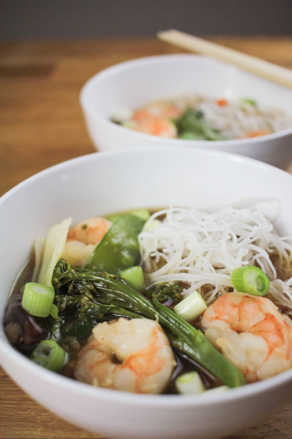 Prawn (Shrimp) Ramen Recipe — Globe Scoffers | globescoffers.com