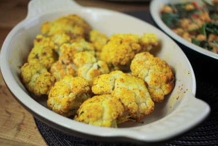 Roasted Curried Cauliflower recipe