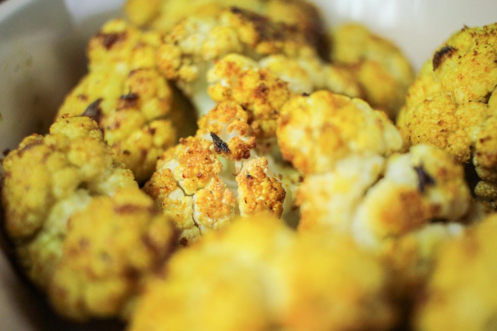 Roasted Curried Cauliflower-5