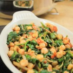 Spicy Chickpeas and Spinach Recipe