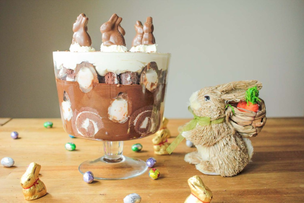 Creme Egg Easter Chocolate Trifle-13