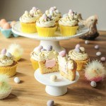 Delight your friends and family with these Easter mini egg cupcakes with a hidden marshmallow inside! Easy to make and so moreish, give them a go!