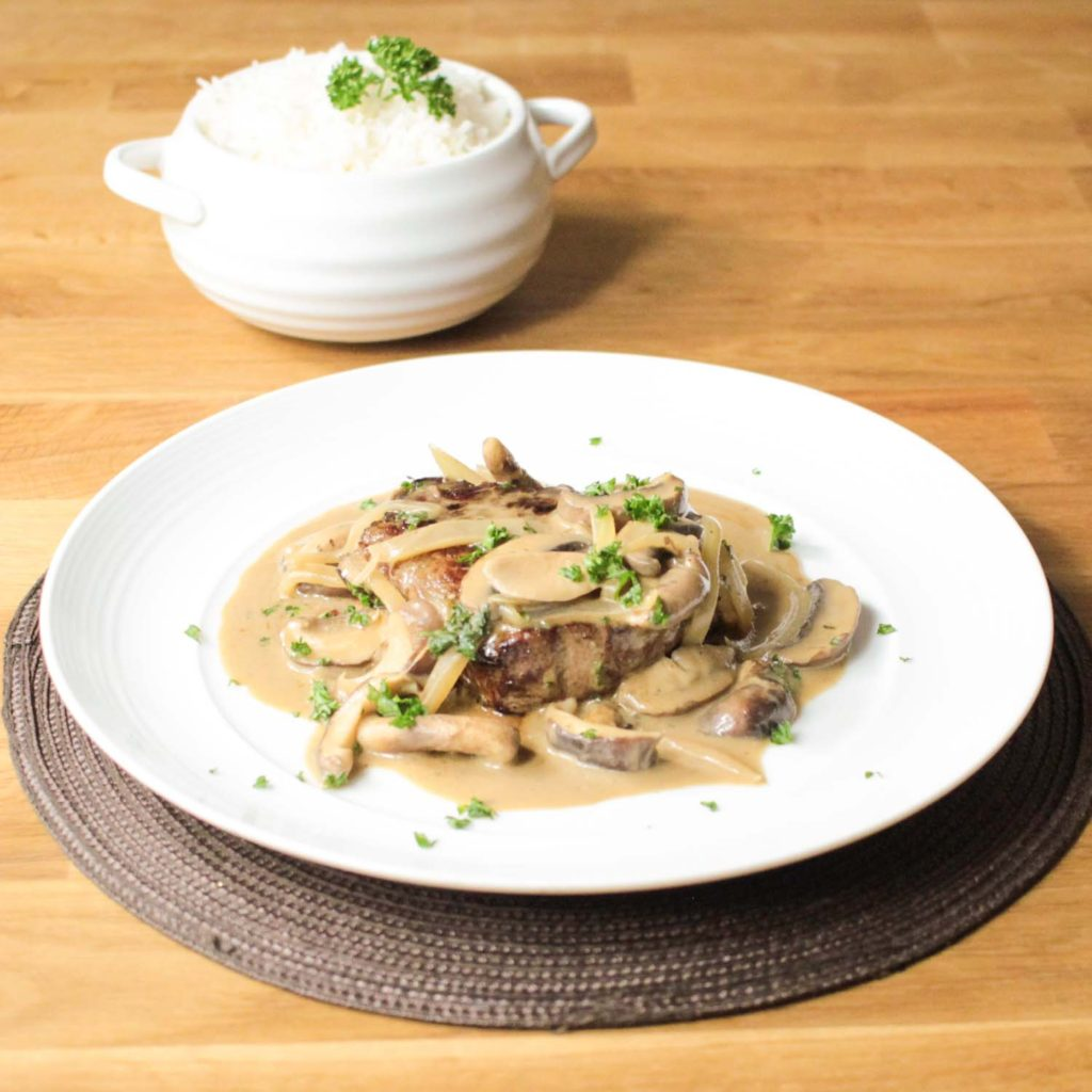 Fillet Steak Stroganoff-10