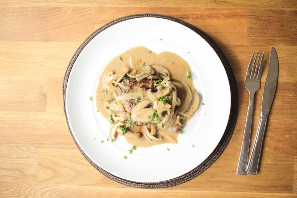 Fillet Steak Stroganoff-5