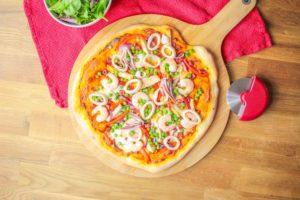 Paella Pizza