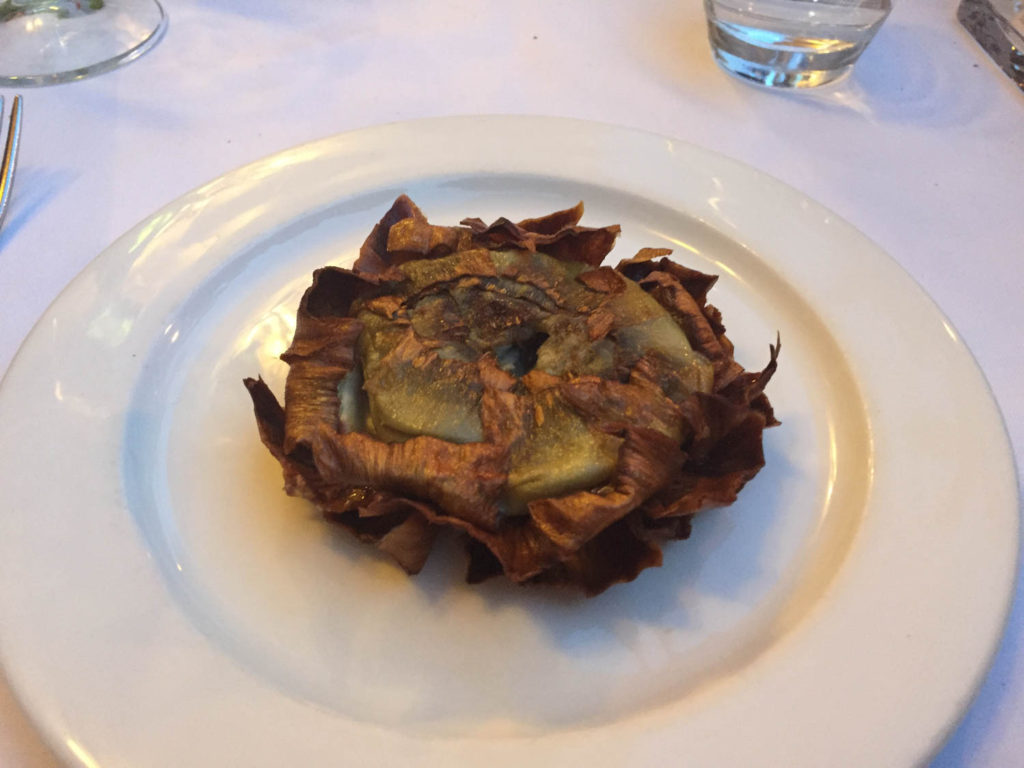 This is the amazing artichoke!