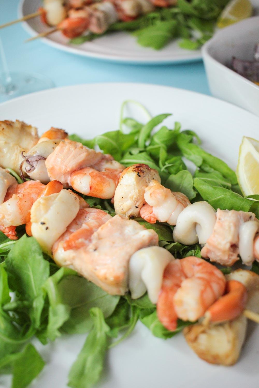 Seafood skewers -14 - Globe Scoffers   globescoffers.com