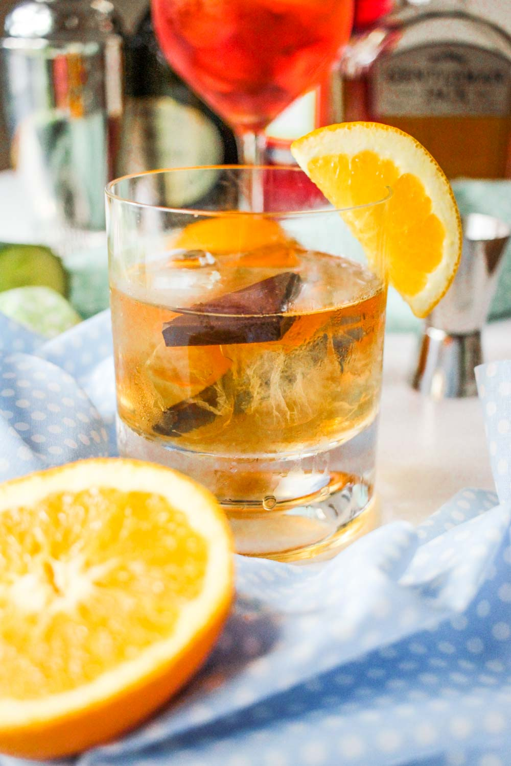 Chocolate Orange Old Fashioned Cocktail Recipe