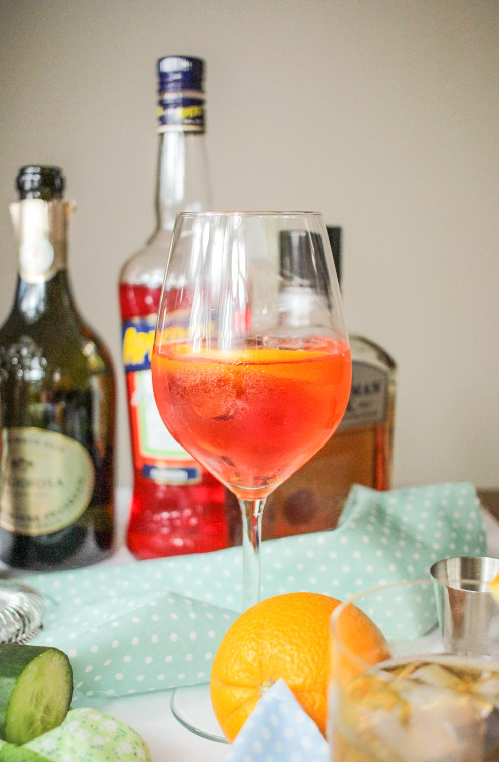 Italian Spritz Cocktail Recipe | globescoffers.com