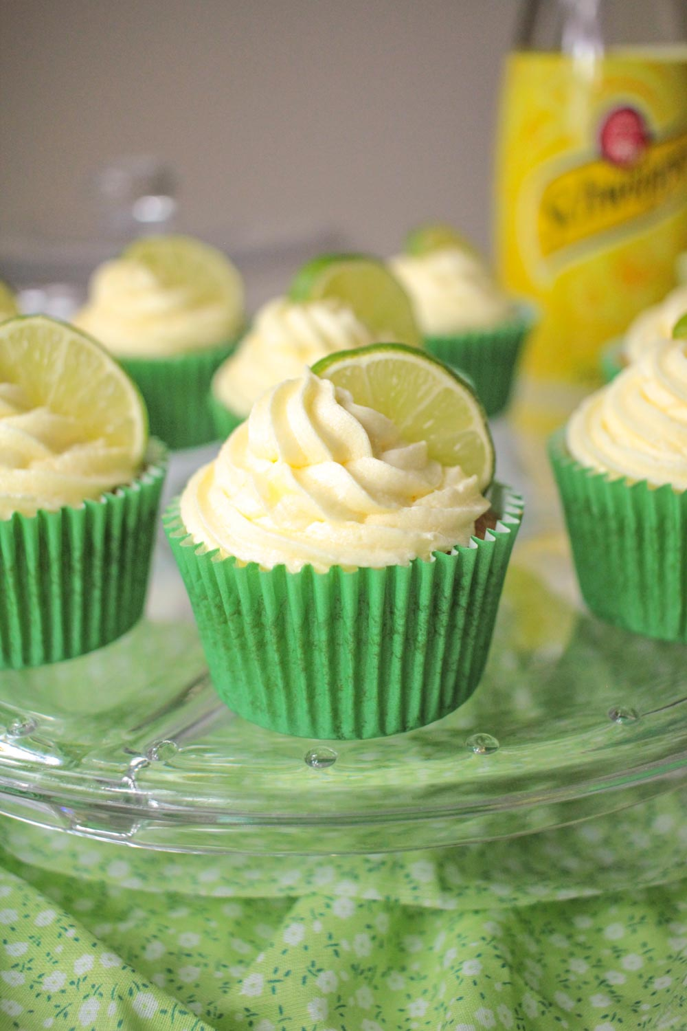 Gin and Tonic Cupcakes-1 - Globe Scoffers | globescoffers.com