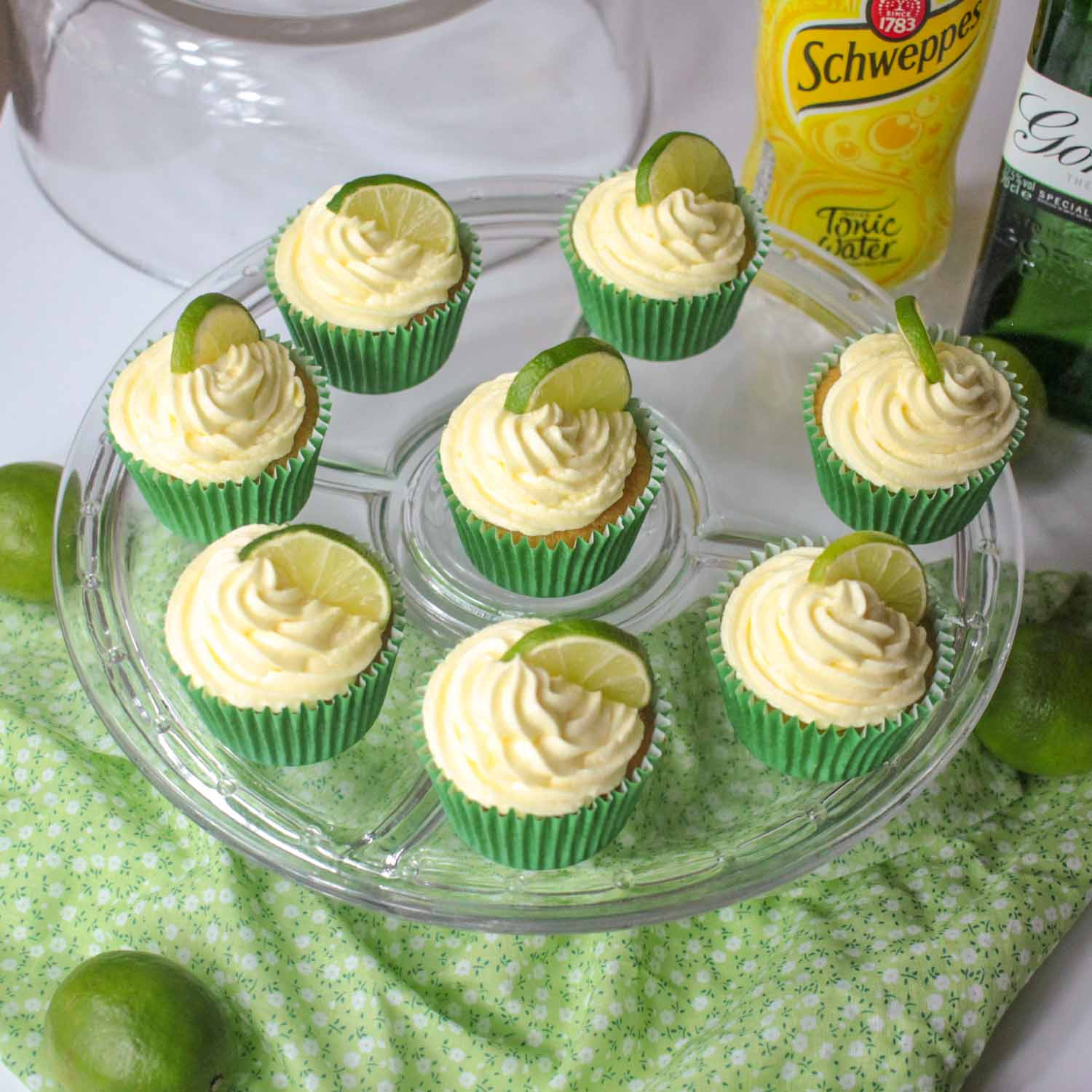 Gin and Tonic Cupcakes-11 - Globe Scoffers | globescoffers.com