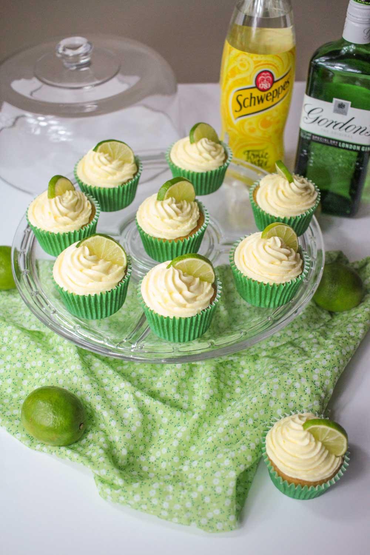 Gin and Tonic Cupcakes-7 - Globe Scoffers | globescoffers.com