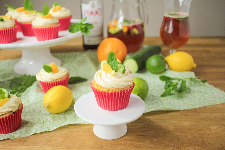 Pimm's Cupcakes-1 - Globe Scoffers | globescoffers.com