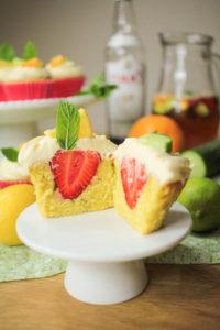 Pimm's Cupcakes