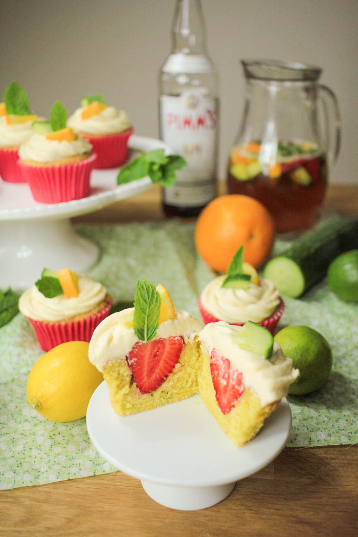 Pimm's Cupcakes-16 - Globe Scoffers | globescoffers.com
