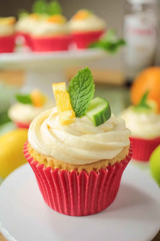 Pimm's Cupcakes Recipe - Globe Scoffers   globescoffers.com