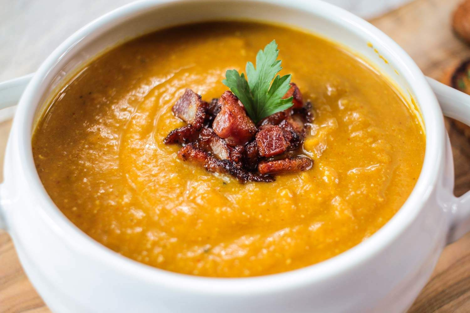 spiced-red-lentil-and-bacon-soup-6 - Globe Scoffers | globescoffers.com