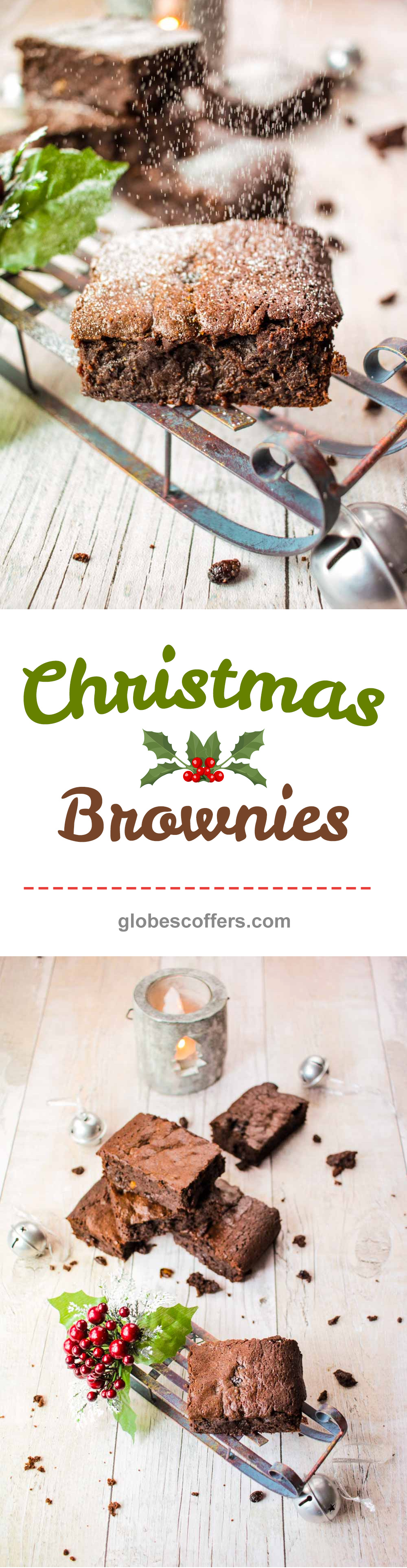 Christmas Brownies Recipe Pinterest