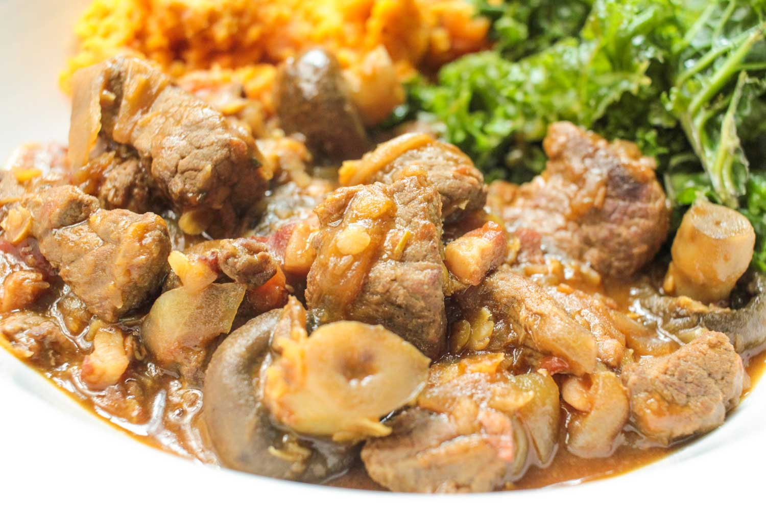 Beef and Ale Stew with Red lentils -3 - Globe Scoffers | globescoffers.com