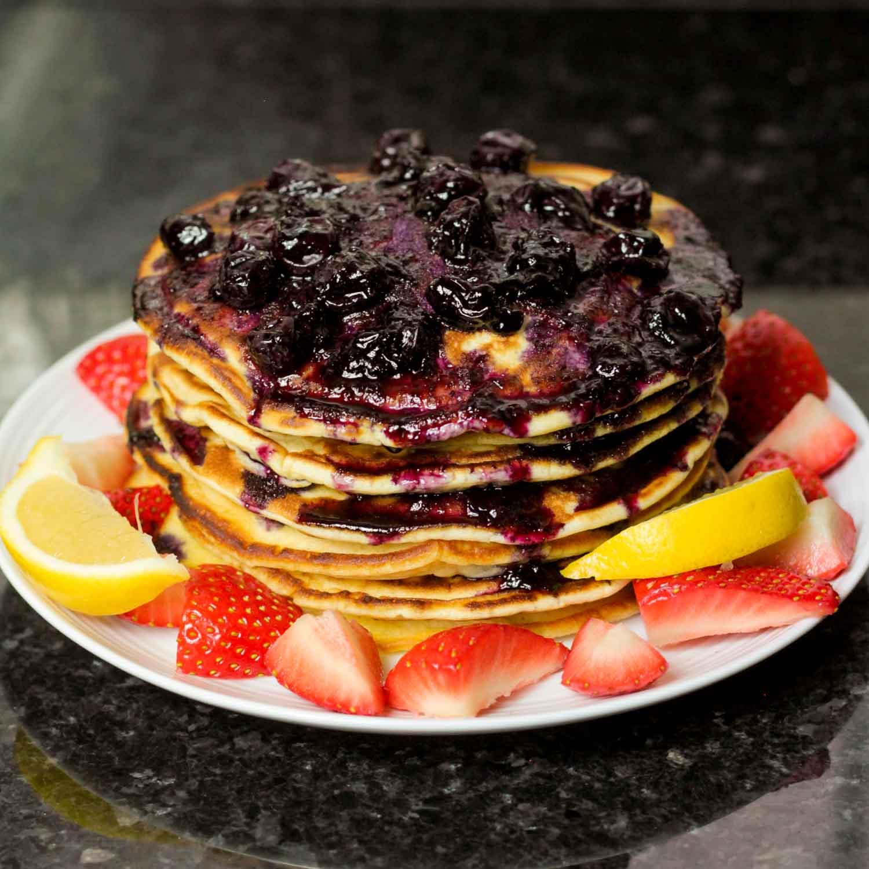 American Fluffy Pancakes-12 - Globe Scoffers | globescoffers.com